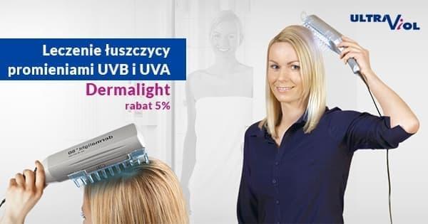 Lampy Dermalight leczenie łuszczycy producent Ultra Viol