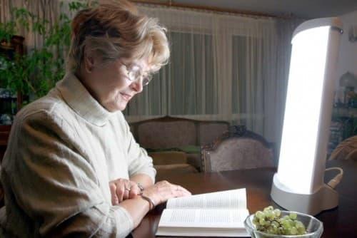światłoterapia - możliwość stosowania w pracy i domu